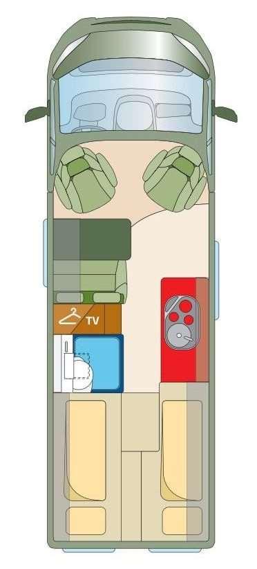Kastenwagen Roadcar R640  (6,4m lang)
